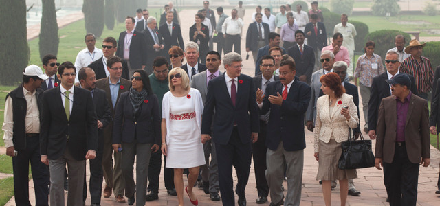 Senator Asha Seth Travels to India as Part of the Delegation with Prime Minister Stephen Harper