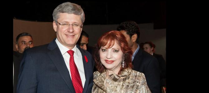 Senator Asha Seth & Prime Minister Stephen Harper